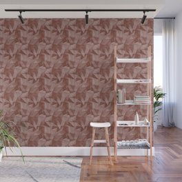Abstract Geometrical Triangle Patterns 2 Dunn and Edwards Spice of Life Color of the Year Rich Muted Wall Mural