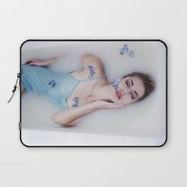 Girl in milk bathe Laptop Sleeve