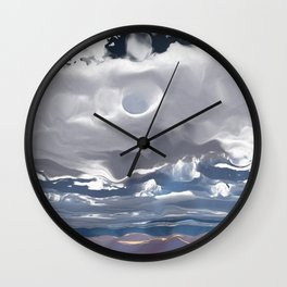 Godrays (Cloud series #3) Wall Clock