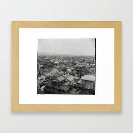 Fukuoka, Japan june 2018 Framed Art Print