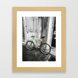 mode of transport Framed Art Print