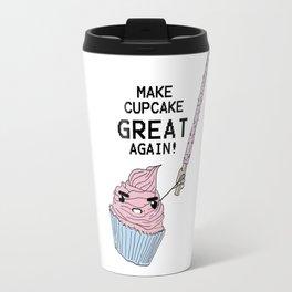 make cupcake great again Travel Mug