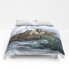 The Arctic Walrus Whisperer Comforters