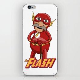 Waldorf the Flash iPhone Skin