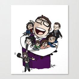 Sylvester's family Canvas Print