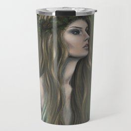 Lady in the Forest Travel Mug