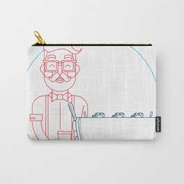 Coffee (lineart) Carry-All Pouch