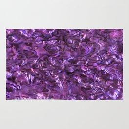 Abalone Shell | Paua Shell | Magenta Tint Rug