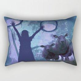 ACTIVATING MAGIC Rectangular Pillow