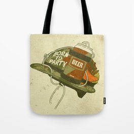 Born to party Tote Bag