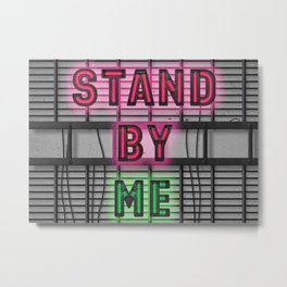 Stand By ME - Shutdown Metal Print