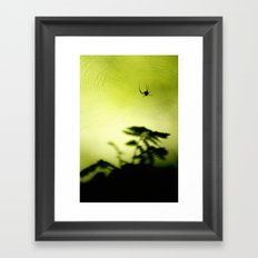 weave me a web Framed Art Print