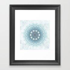 Frankfurter Mandala Framed Art Print