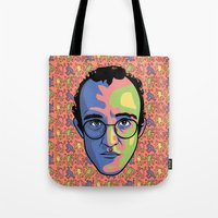 keith haring Tote Bags featuring Haring by guissëpi