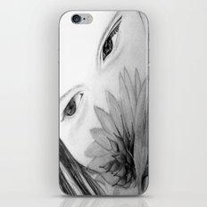Beautiful Girl iPhone & iPod Skin