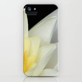 White Lilly 1 iPhone Case