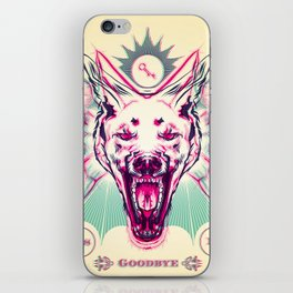 Savage Future - Anaglyph iPhone Skin