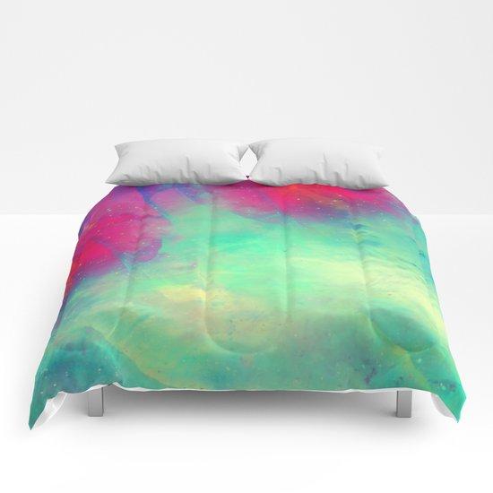 Sky Flower Comforters