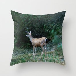 The Forest Fringe Throw Pillow