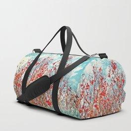 I Scratch the Sky Duffle Bag