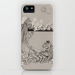 Egyptian Goddess Past Life iPhone Case