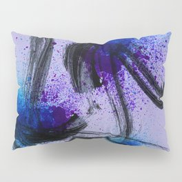 Japanese Style Abstract on Lavender Pillow Sham