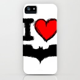 The Knight is Darkest... iPhone Case