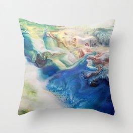 Stirring Throw Pillow