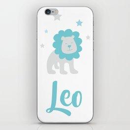Leo July 23 -August 22 - Fire sign - Zodiac symbols iPhone Skin