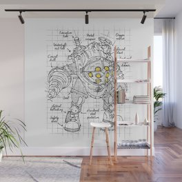 Big Daddy plan Wall Mural