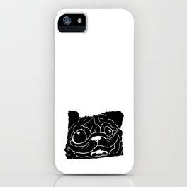 Orepug - Oregon Pug iPhone Case