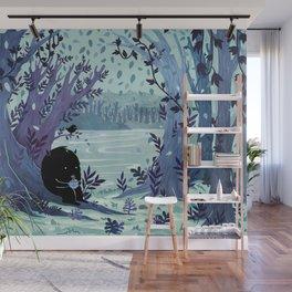 A Quiet Spot of Tea Wall Mural