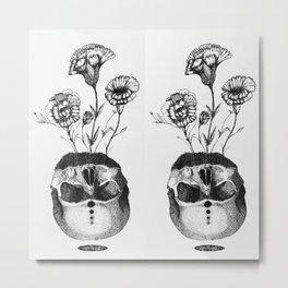La vie et la mort II Metal Print