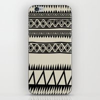 zebra iPhone & iPod Skins featuring MALOU ZEBRA by Aztec