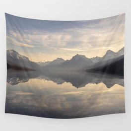 Landscape Reflections #mountain Wall Tapestry