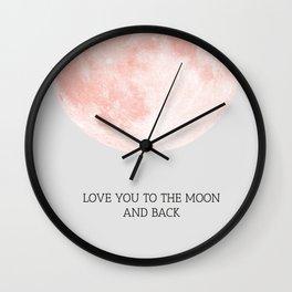 Moon 01 Wall Clock