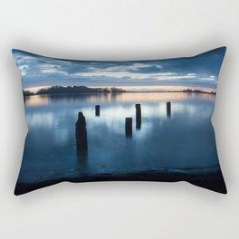 Five Posts Rectangular Pillow