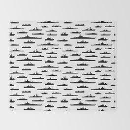 Battleship Throw Blanket