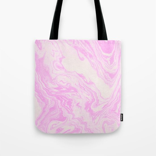 Akiko - spilled ink art print monoprint handmade japanese paper marble paper texture pattern map Tote Bag