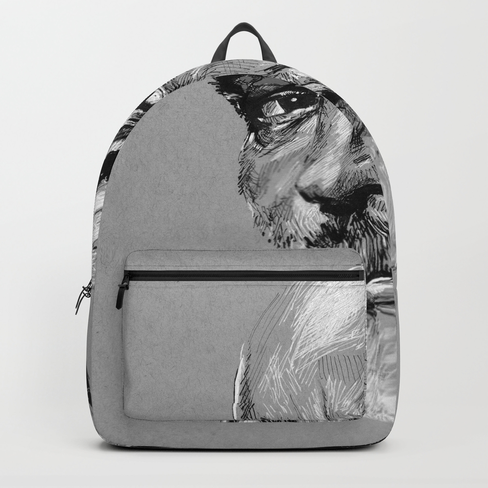 Sean Connery Backpack by Michael_nicholson BKP8542219