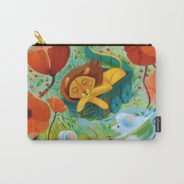 sleeping lion Carry-All Pouch