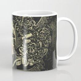 Halloween, baroque Venetian spooky mask Coffee Mug