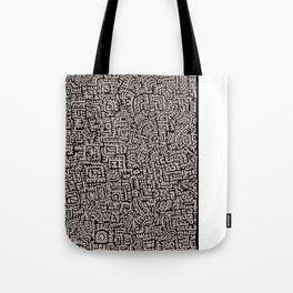 Doodlez Three Tote Bag