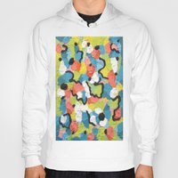 confetti Hoodies featuring Confetti  by Laura Jane Mitbrodt