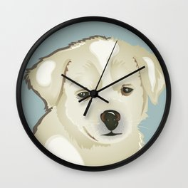 Puppy of Mine Wall Clock