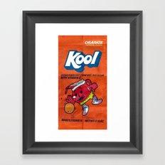 kool Framed Art Print