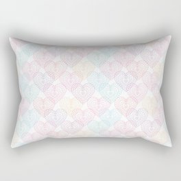 Patterns Of My Heart Rectangular Pillow