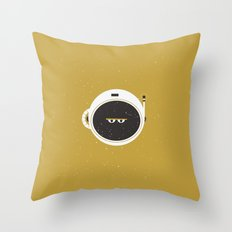 The Spaceman on the Sun Throw Pillow