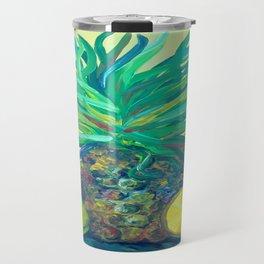 Pear and Pineapple Travel Mug