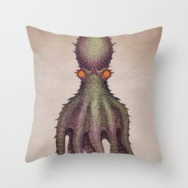 Gigantic Octopus Throw Pillow
